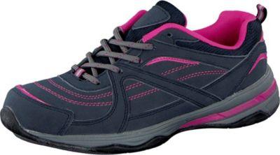 Plus 4 a walk Damen Freizeitschuh mit Multifunktionssohle schwarz/pink
