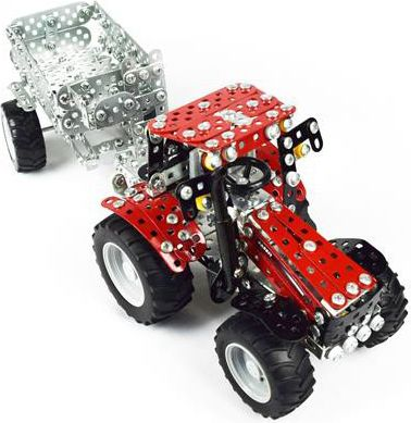 tronico-metallbaukasten-mini-serie-case-ih-puma-230-cvx-traktor-mit-anhanger-ma-stab-1-32