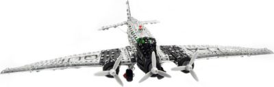 Profi Serie JUNKERS JU 52 Flugzeug Metallbaukasten, 1:50