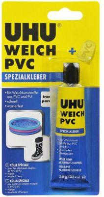 UHU Weich PVC Spezialkleber, schnellanziehend, 30 g