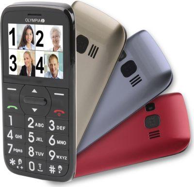Senioren Komfort Mobiltelefon mit Großtasten un...