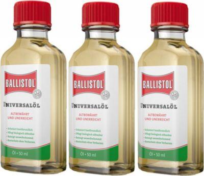 3 Flaschen BALLISTOL ÖL, 50 ml