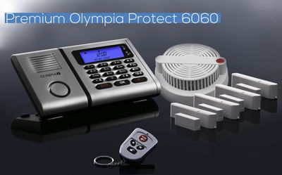 Olympia OLYMPIA Protect 6060 Drahtloses Alarmanlagen-Set