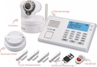 Olympia  Funk-Alarmanlage Protect 9080mit Notruf- und Freisprechfunktion, inkl. Überwachungskamera