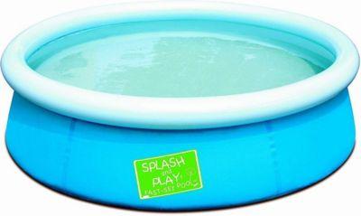 Bestway  57241 - Splash and Play Pool, Schnellaufbau (Quick-Up), Blau