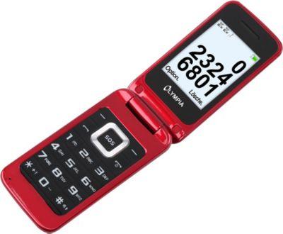 OLYMPIA Luna Senioren Mobiltelefon, Rot