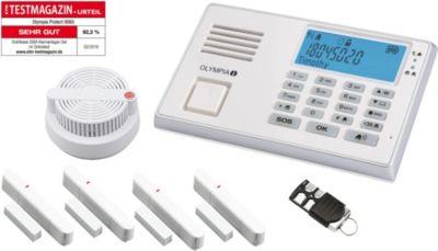 Olympia  Funk-Alarmanlage Protect 9065 mit Notruf- und Freisprechfunktion, inkl. Rauchmelder