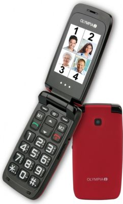 OLYMPIA Classic 2206 Komfort-Mobiltelefon, groß...