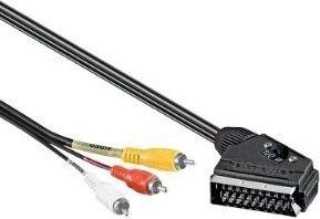 Scart Cinch Adapter Kabel Scartkabel Cinchkabel 5m
