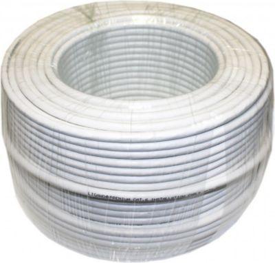 ® 1018300 Netzwerk Verlegekabel Cat.6 100m weiß Ring SFTP
