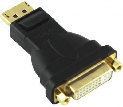 ® 6543402 Adapter Displayport Stecker auf DVI-D 24+5 Buchse