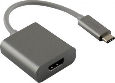® 6518959 USB 3.1 Typ C Stecker an HDMI Buchse Adapter space grau