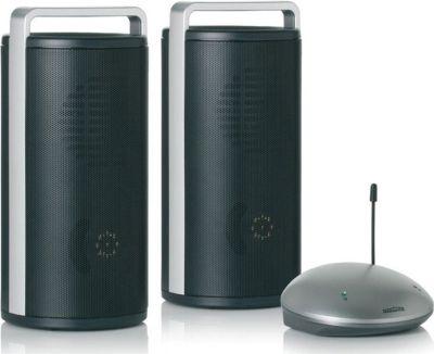 Anywhere 200 Funklautsprecher Set. 2 Lautpsrecher und 1 Sender