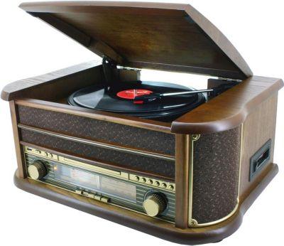 NR 513 A Nostalgieradio mit CD und Plattenspieler, Encoding Funktio