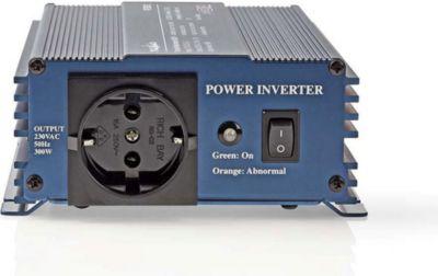 PURE300-12 KFZ Spannungswandler 12V DC zu echten 230V AC, 1,3 Ampere