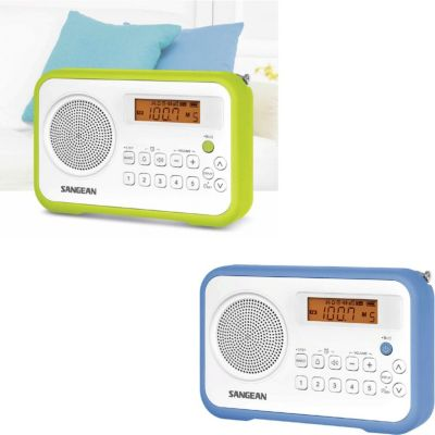 Sangean PR-D18 UKW-Radio, tragbares Radio, grün...