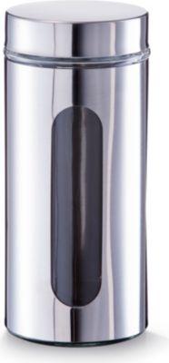 Vorratsglas, 1000 ml, Chrom