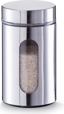 Vorratsglas, 750 ml, Chrom