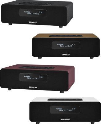 DDR 36 BT DAB+/FM RDS Radio mit Bluetooth Unterstützung Farbe: rot
