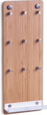 Zeller Schlüsselbord, Bamboo/Edelstahl