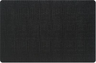 Platzset ´´Flechtoptik´´, schwarz, Maße: 43,5x28,5 cm