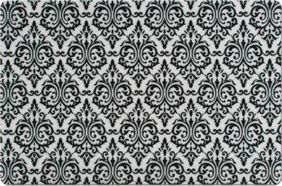 Platzset ´´Vintage´´, PP, schwarz, Maße: 43,5x28,5 cm