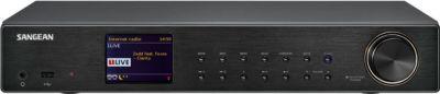 Vorschaubild von Sangean WFT-3 Internet Radio HiFi-Komponente mit UKW / DAB+ und Wi-Fi, Schwarz
