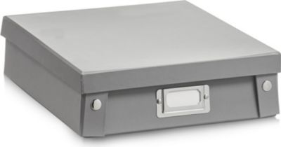 17597 A4-Box, Pappe, grau