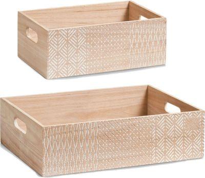 aufbewahrungsbox holz preisvergleich die besten angebote online kaufen. Black Bedroom Furniture Sets. Home Design Ideas