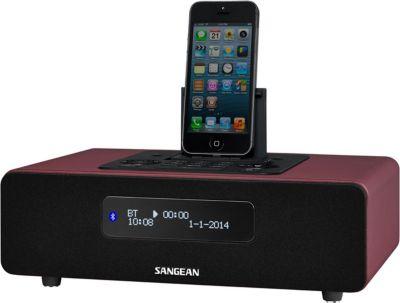 Sangean DDR-38 Red DAB+/UKW Radio, Bluetooth, A...