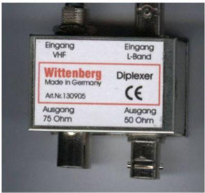 Wittenberg DIPLEXER für DAB+
