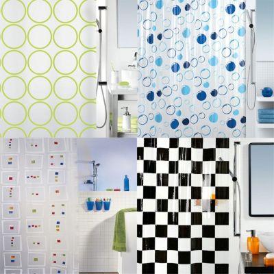 Spirella Duschvorhang Muster, vers. Designs Far...