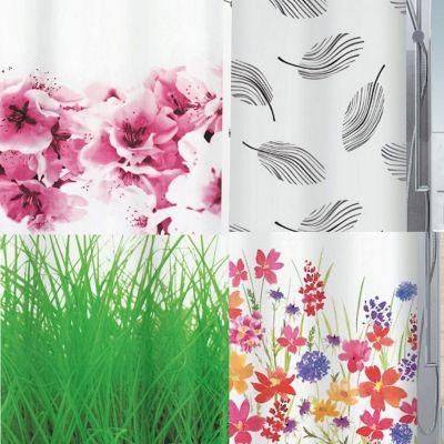 spirella duschvorhang pflanzen vers designs farbe. Black Bedroom Furniture Sets. Home Design Ideas