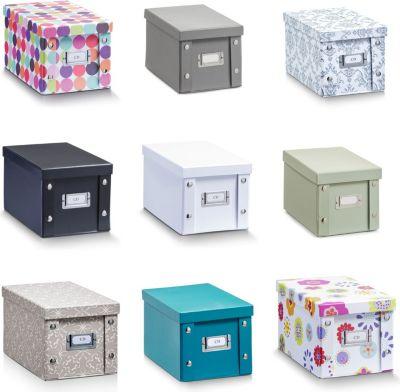 Reißverschluß & Tragegriffen Fine Quality 4x Aufbewahrungsbox Faltbar Durchsichtiger Deckel Bath