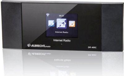 ALBRECHT DR 460 C Internet-Radio Adapter mit Fa...