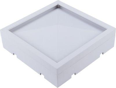 Heitronic LED Aufbauleuchte ALEKSI 8W quadratis...