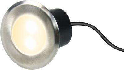 LED Einbaustrahler LORCA 4er Set mit Tag/Nachtsensor