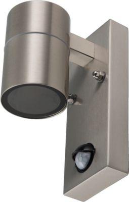 Wandleuchte GRENADA mit Bewegungsmelder als UP- / Downlight mit GU10-Fassung für Leuchtmittel mit max. 35W