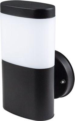 Hochwertige Edelstahl LED Wandleuchte CAMELLA 11W 900 Lumen mit/ohne Bewegungsmelder Sensor schwarz