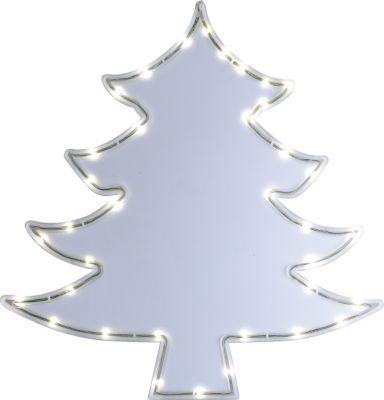 Heitronic LED CHRISTMAS TREE Weihnachtsbaum Fenstersilhouette als Lichtschlauch