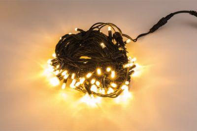 Heitronic  LED Lichterkette, 25m, mit 250 warmweißen LED