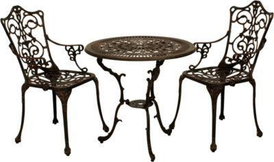 Gartengruppe Garten-Set bronze antik
