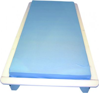 Bett Einzelbett 140x190 cm Kiefer weiss