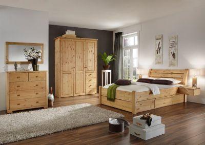Schlafzimmer Kiefer massiv
