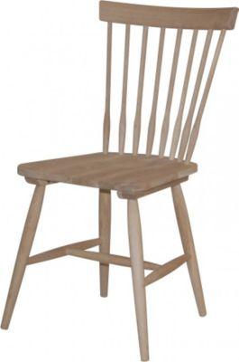 Stühle 2er Set Eiche massiv