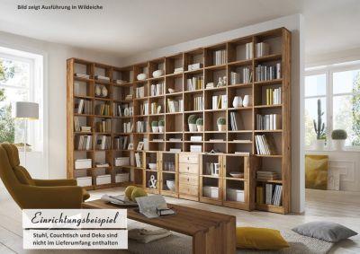 Bücherregal massiv geölt