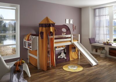 Kinderbett Kiefer Rutsche