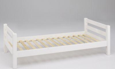 Einzelbett Bett Kiefer massiv