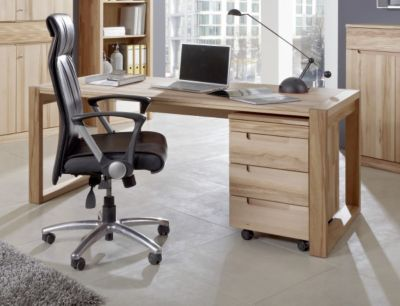 preisvergleich eu massiv schreibtisch. Black Bedroom Furniture Sets. Home Design Ideas