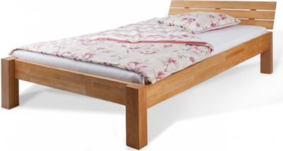 Bett Doppelbett Buche massiv